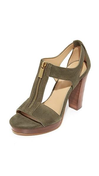 MICHAEL Michael Kors Berkley Sandals - Olive