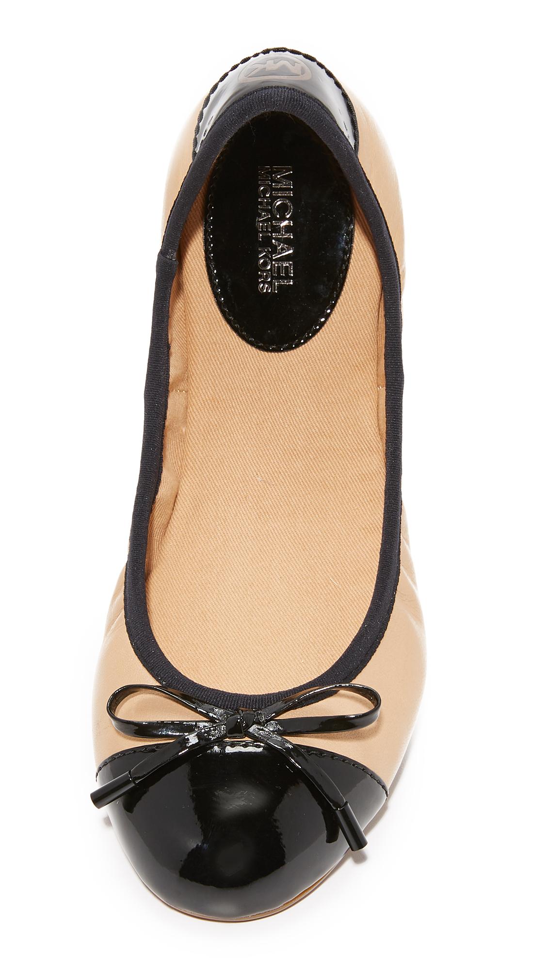 054c6e95eedb MICHAEL Michael Kors MK City Ballet Flats