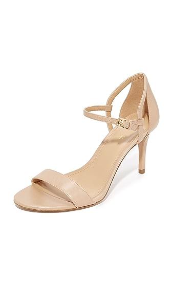 MICHAEL Michael Kors Simone Mid Sandals In Light Khaki