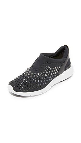 MICHAEL Michael Kors Ace Trainer Sneakers In Black