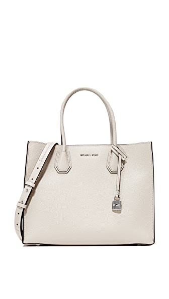 MICHAEL Michael Kors Mercer Tote In Cement