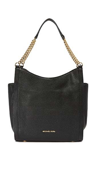 MICHAEL Michael Kors Newbury Hobo Bag - Black