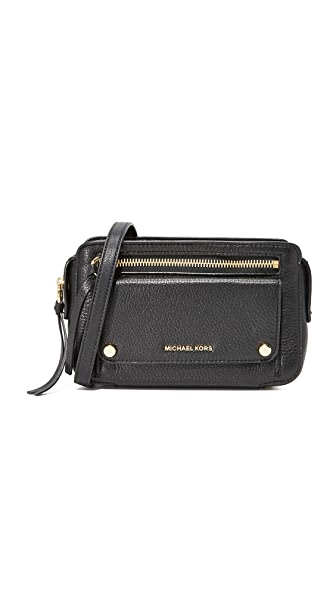 MICHAEL Michael Kors Mitchell Camera Bag - Black