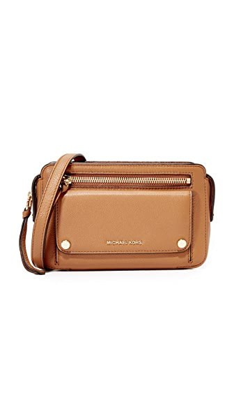 MICHAEL Michael Kors Mitchell Camera Bag In Acorn