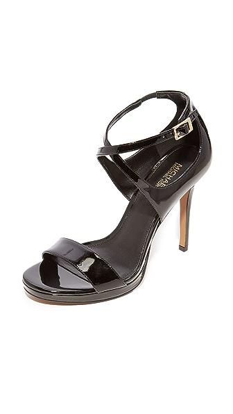 MICHAEL Michael Kors Faryn Sandals In Black