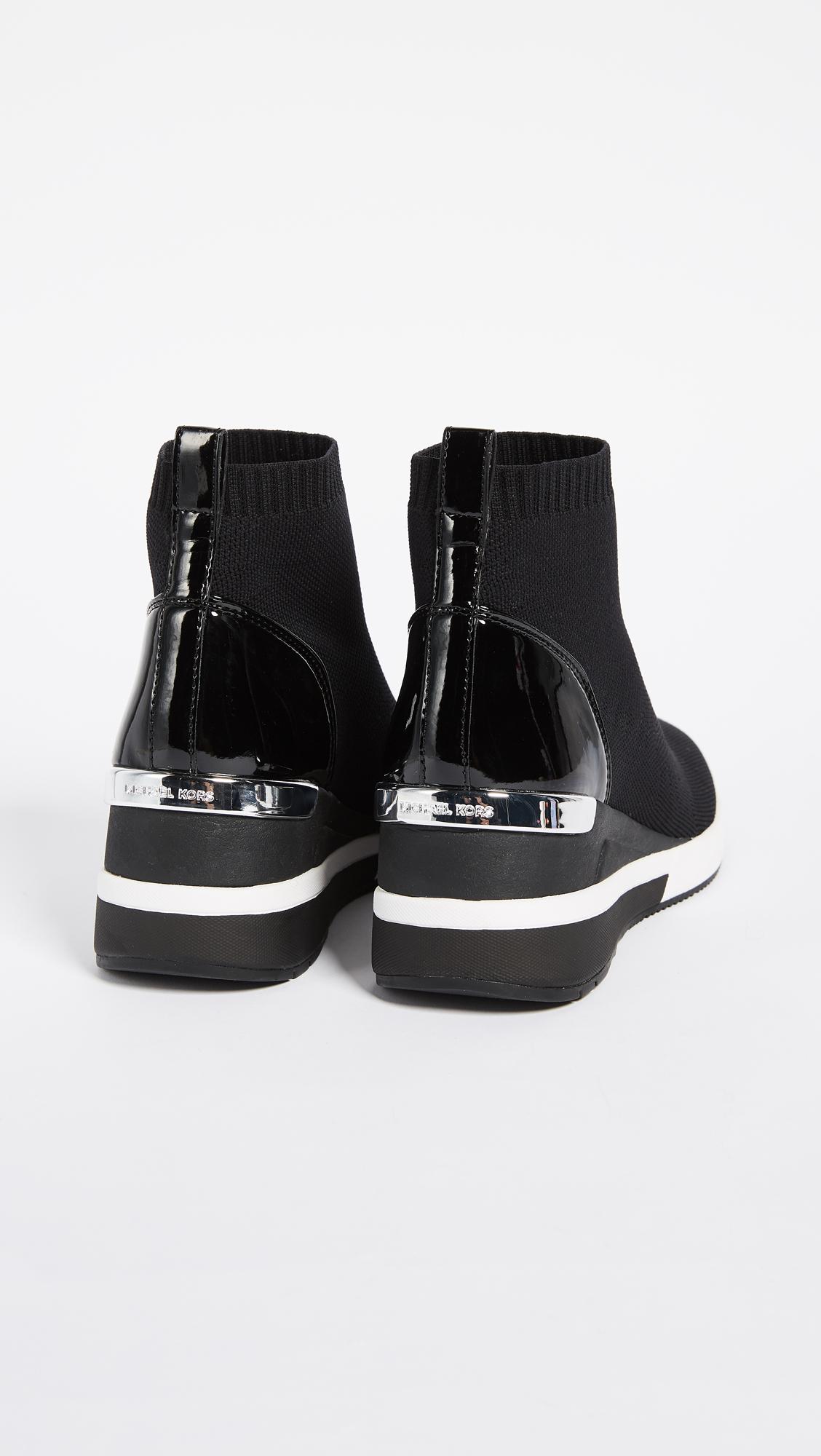 1fb40c8bb59e MICHAEL Michael Kors Skyler Stretch Sneaker Booties