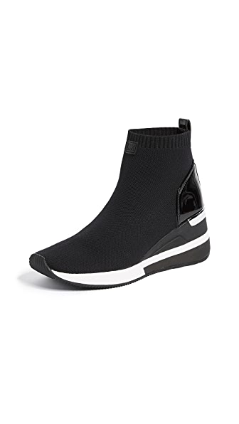 Women'S Skyler Knit Slip-On Sneaker Boots in Black