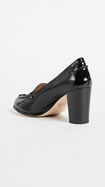 MICHAEL Michael Kors Bayville Heeled Loafers
