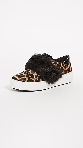 MICHAEL Michael Kors Maven Faux Fur Haircalf Platform Sneakers