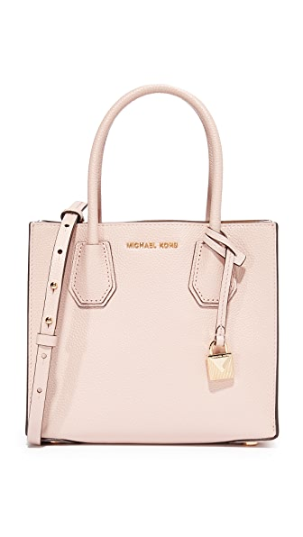 MICHAEL Michael Kors Medium Mercer Messenger Bag - Soft Pink