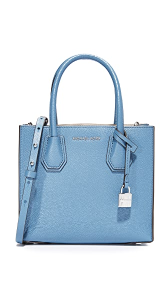 MICHAEL Michael Kors Medium Mercer Messenger Bag - Denim