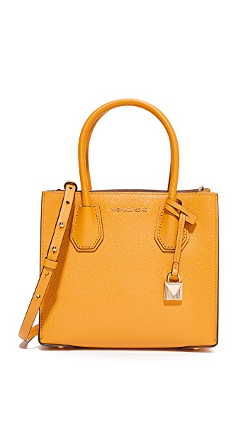 MICHAEL Michael Kors Medium Mercer Messenger Bag - Marigold