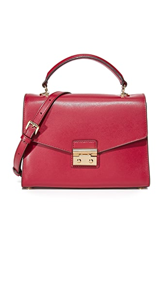 MICHAEL Michael Kors Medium Thela Satchel - Mulberry