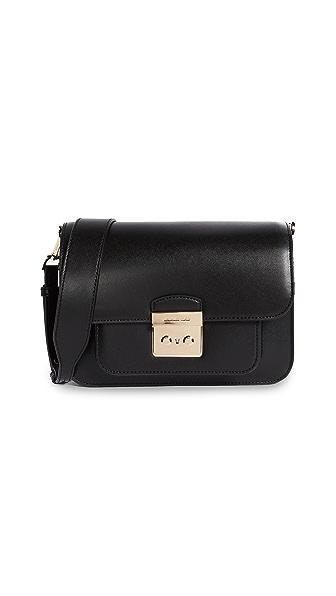 MICHAEL Michael Kors Sloan Editor Shoulder Bag In Black