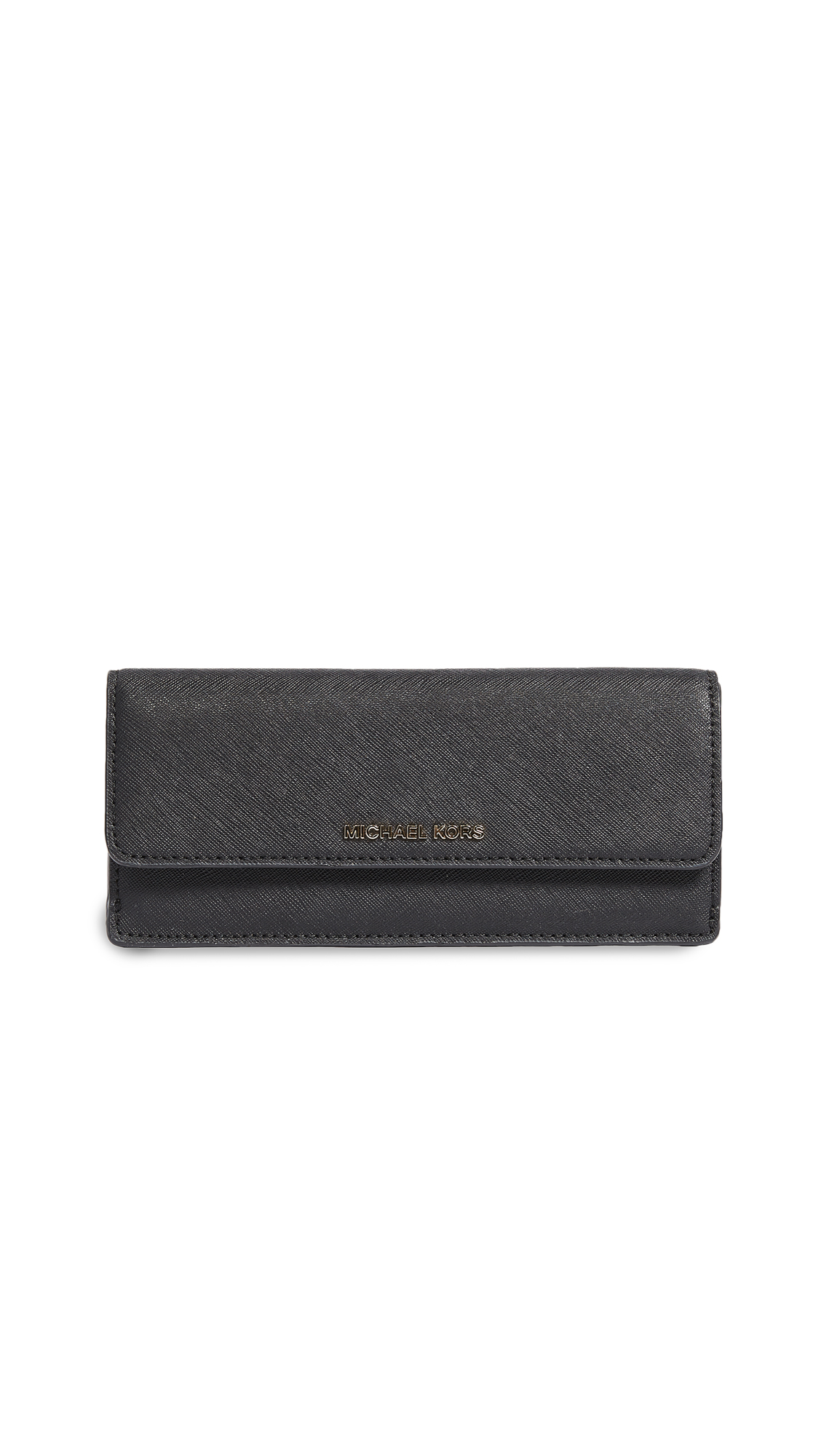 MICHAEL Michael Kors Flat Wallet - Black
