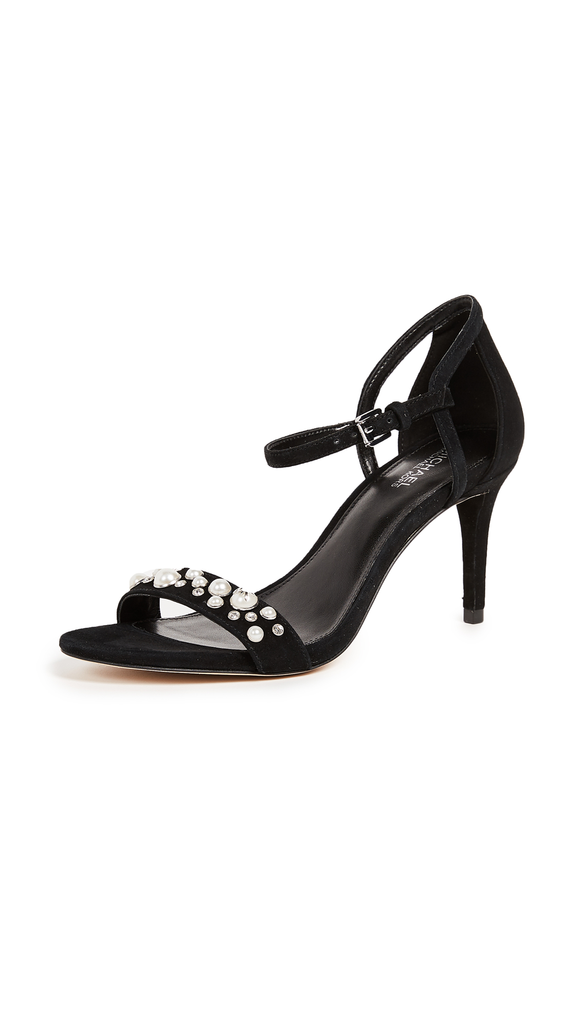 MICHAEL Michael Kors Simone Mid Sandals - Black