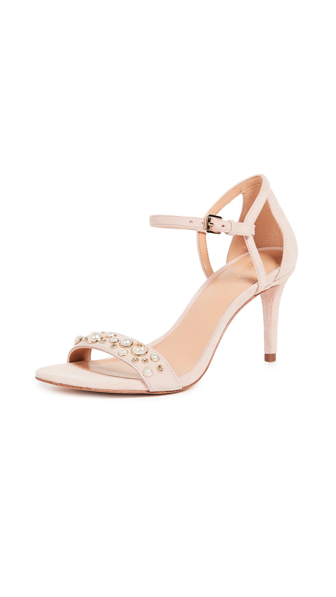 MICHAEL Michael Kors Simone Mid Sandals - Soft Pink