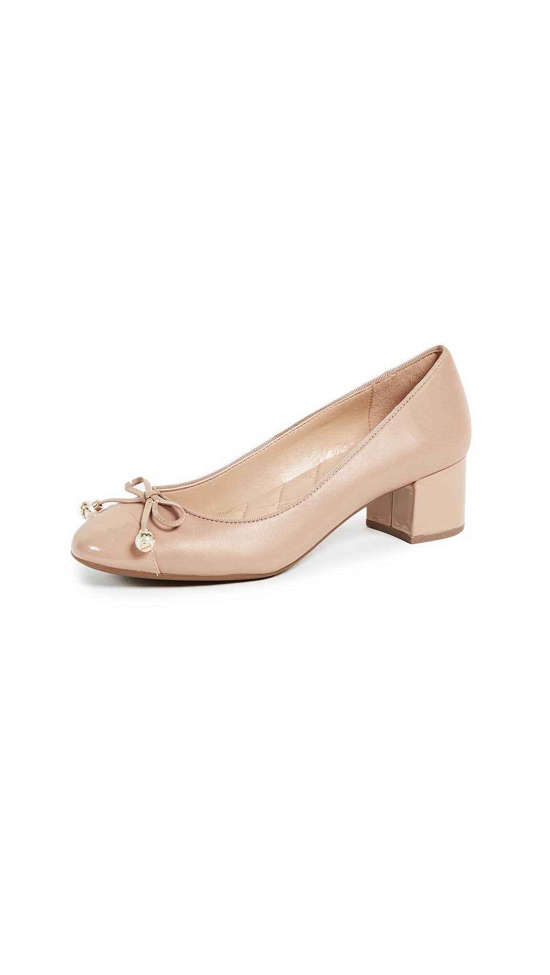 MICHAEL Michael Kors Gia Mid Pumps - Toffee