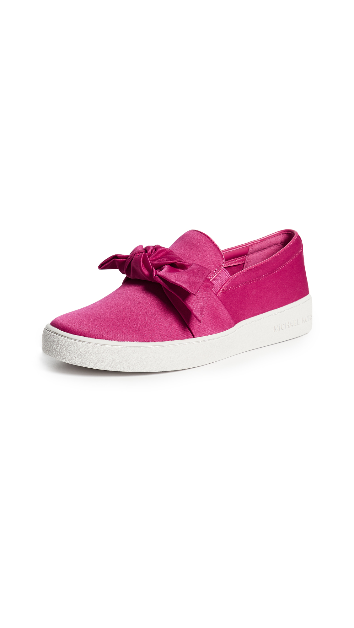 MICHAEL Michael Kors Willa Slip On Sneakers - Ultra Pink
