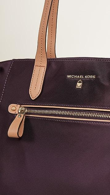 MICHAEL Michael Kors Nylon Kelsey Medium Top Zip Tote