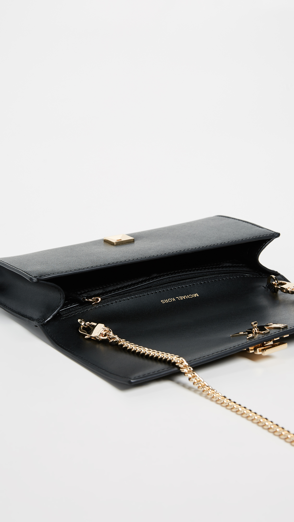 386f0d7222ae MICHAEL Michael Kors Mott Large Clutch with Chain | SHOPBOP