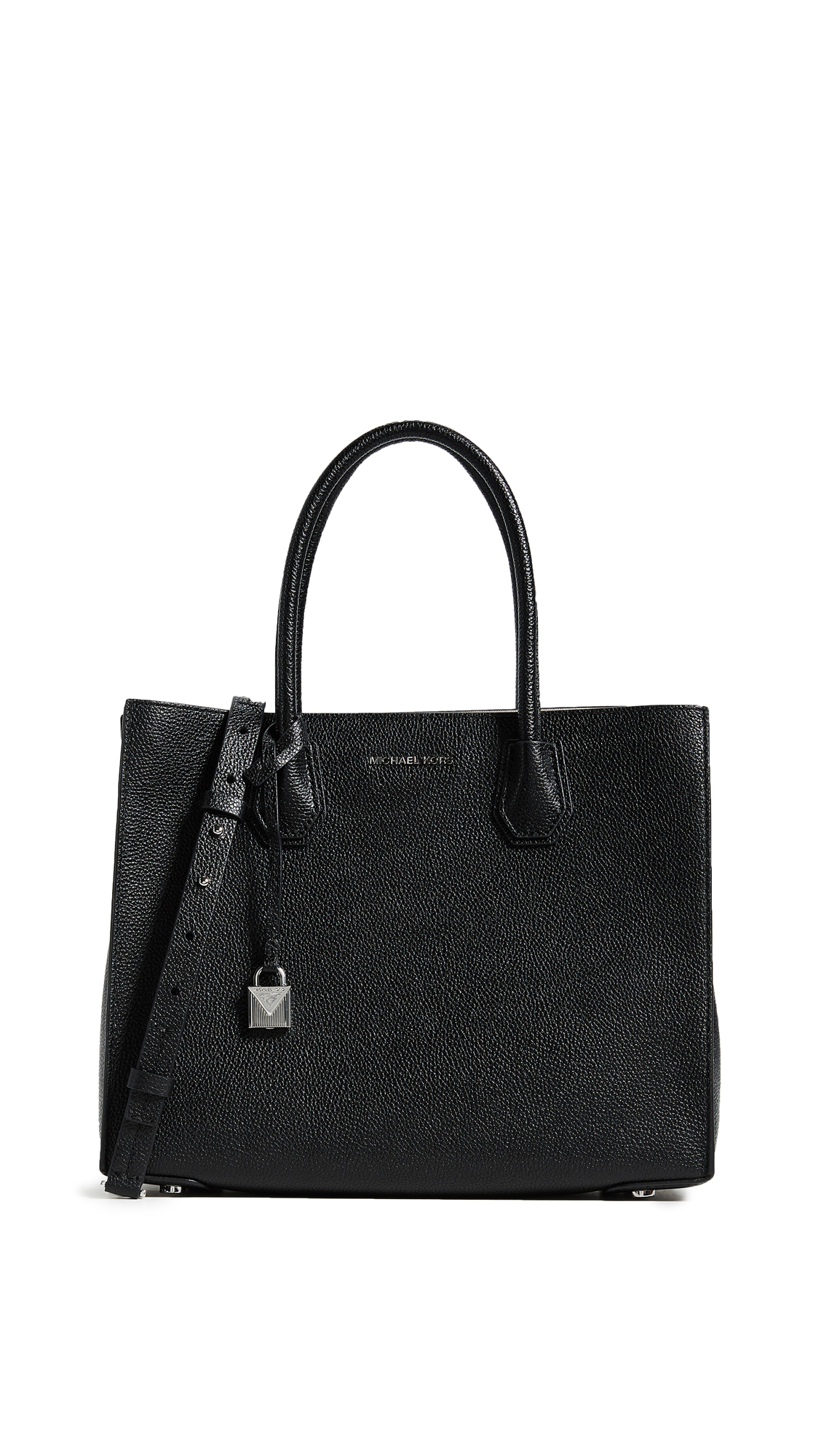 Mercer Large Convertible Tote Bag, Black