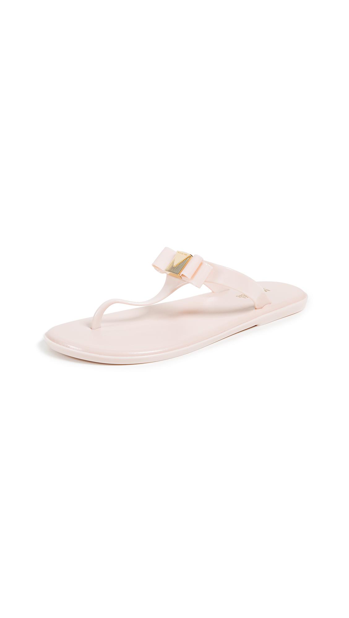 MICHAEL Michael Kors Caroline Jelly Thongs - Soft Pink