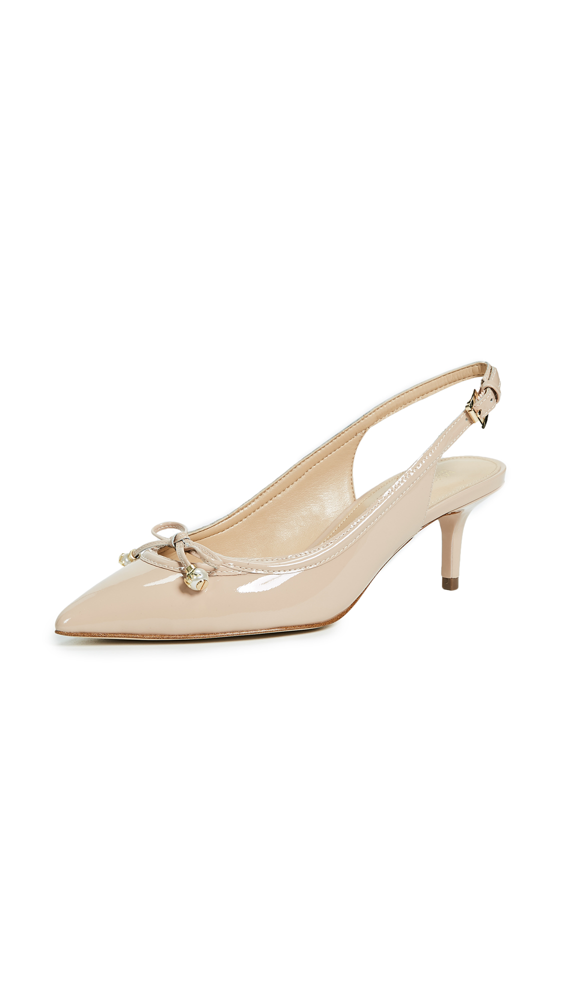 MICHAEL Michael Kors Gia Slingback Pumps - Light Blush