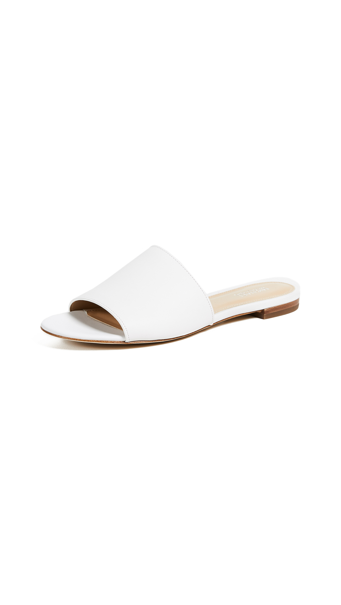 MICHAEL Michael Kors Shelly Slides - Optic White