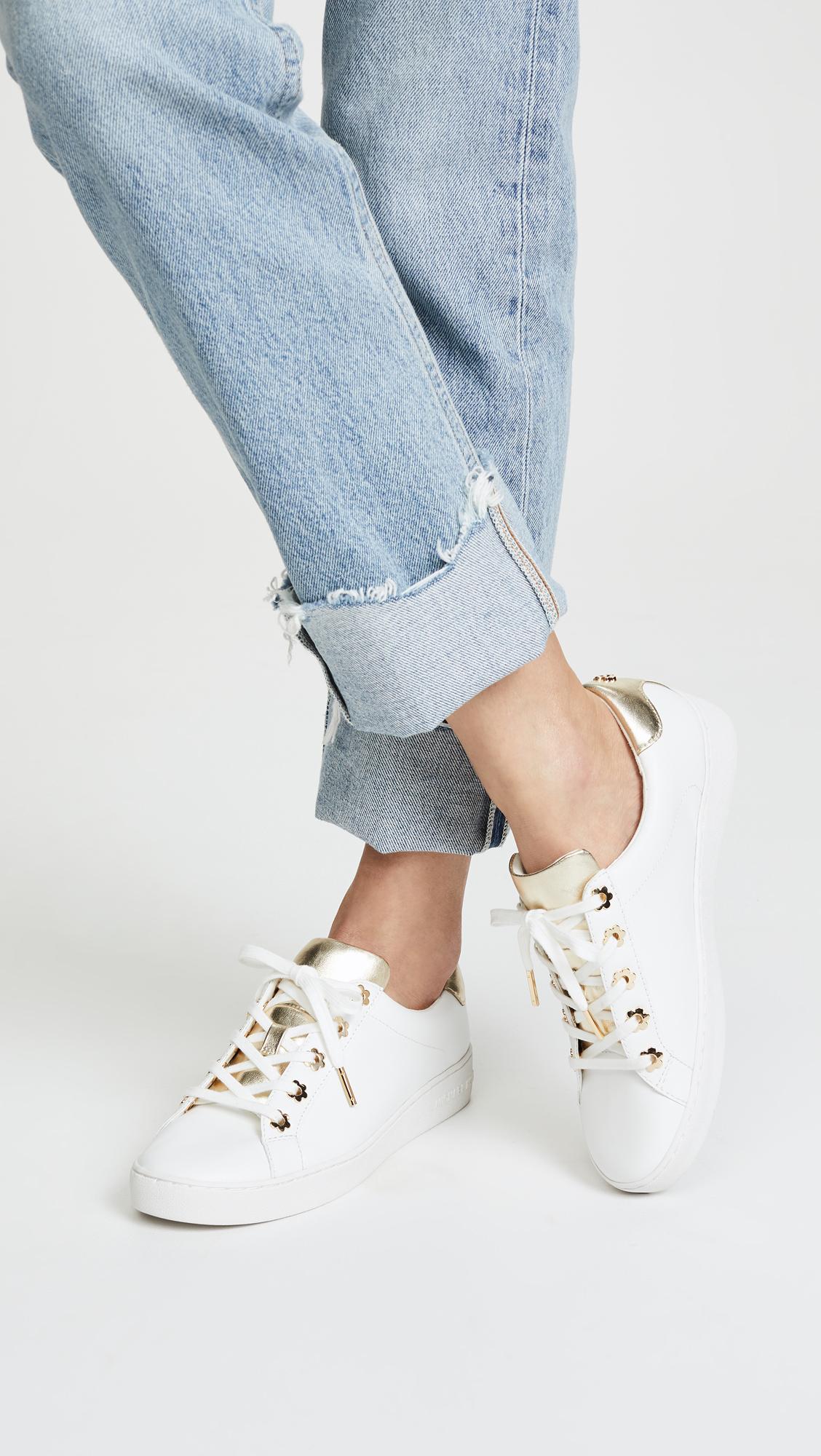 3a93ed83e59 MICHAEL Michael Kors Irving Lace Up Sneakers   SHOPBOP