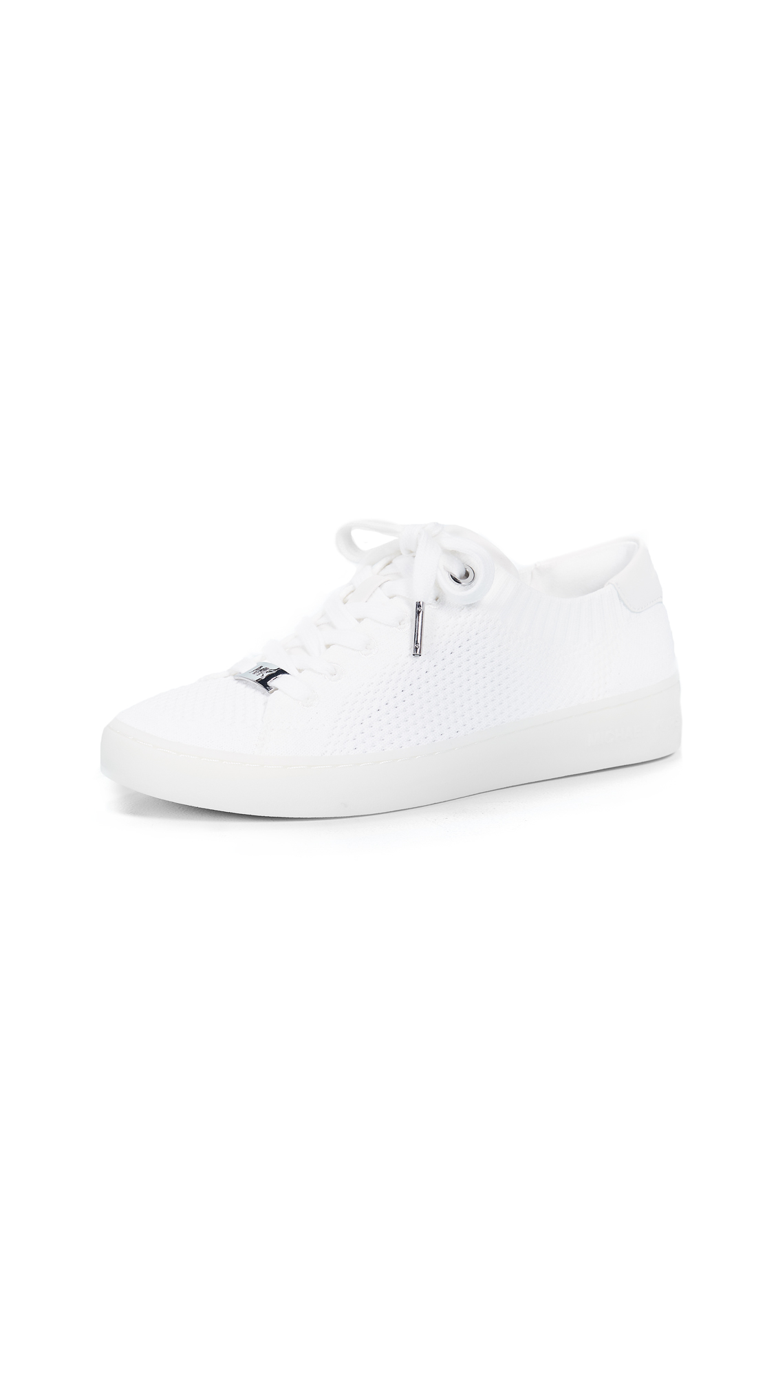 7b8f40c4c1b83 Michael Michael Kors Skyler Sneakers In Optic White