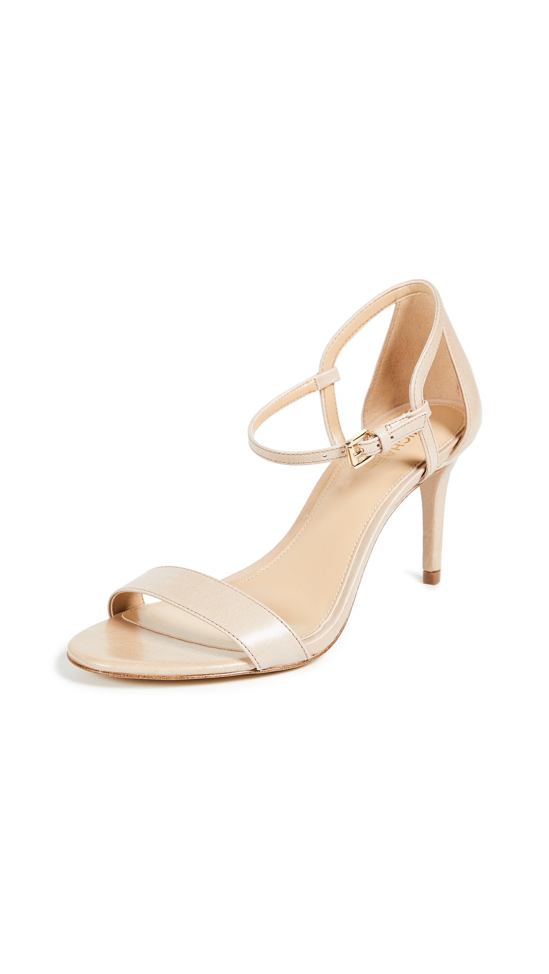 MICHAEL Michael Kors Simone Mid Sandals - Light Khaki
