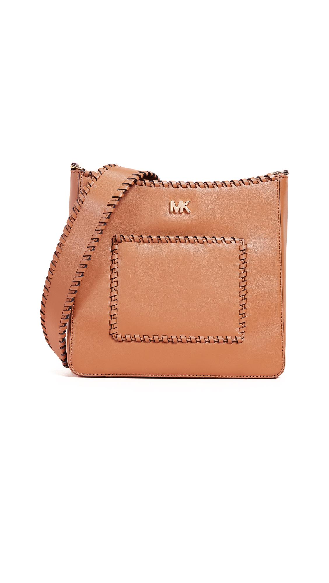 Gloria Leather Crossbody - Brown, Acorn