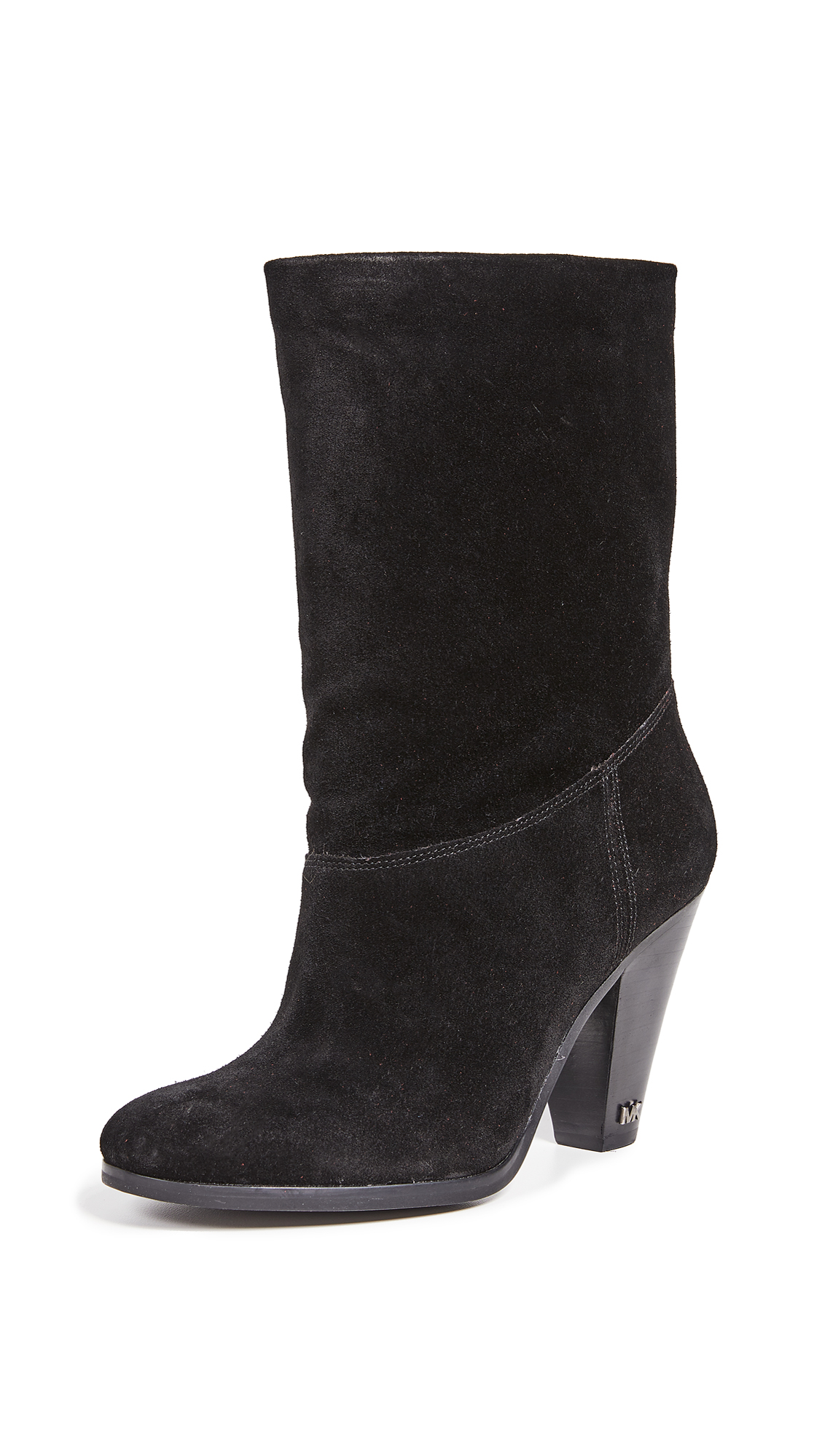 MICHAEL Michael Kors Divia Mid Shaft Booties - Black