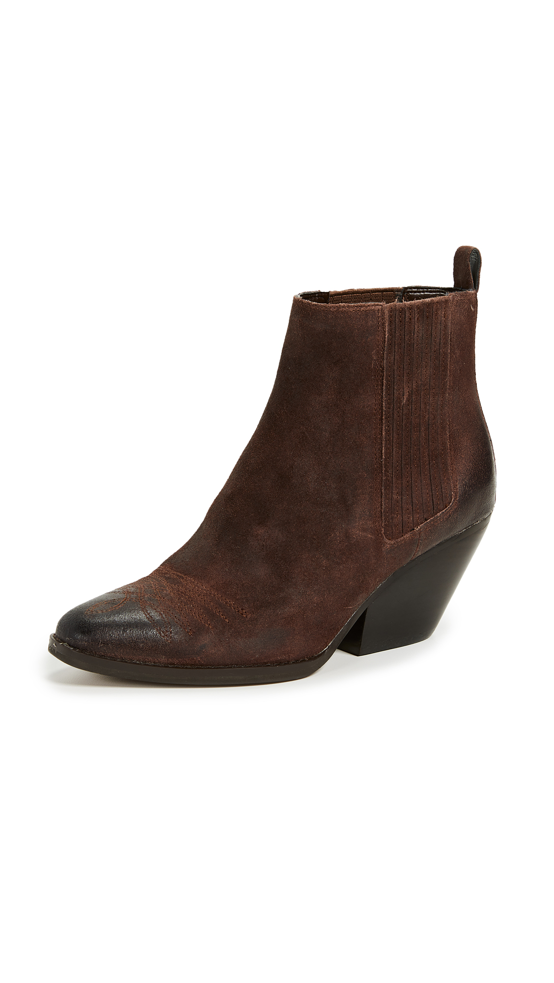 MICHAEL Michael Kors Sinclair Booties - Mocha/Gold