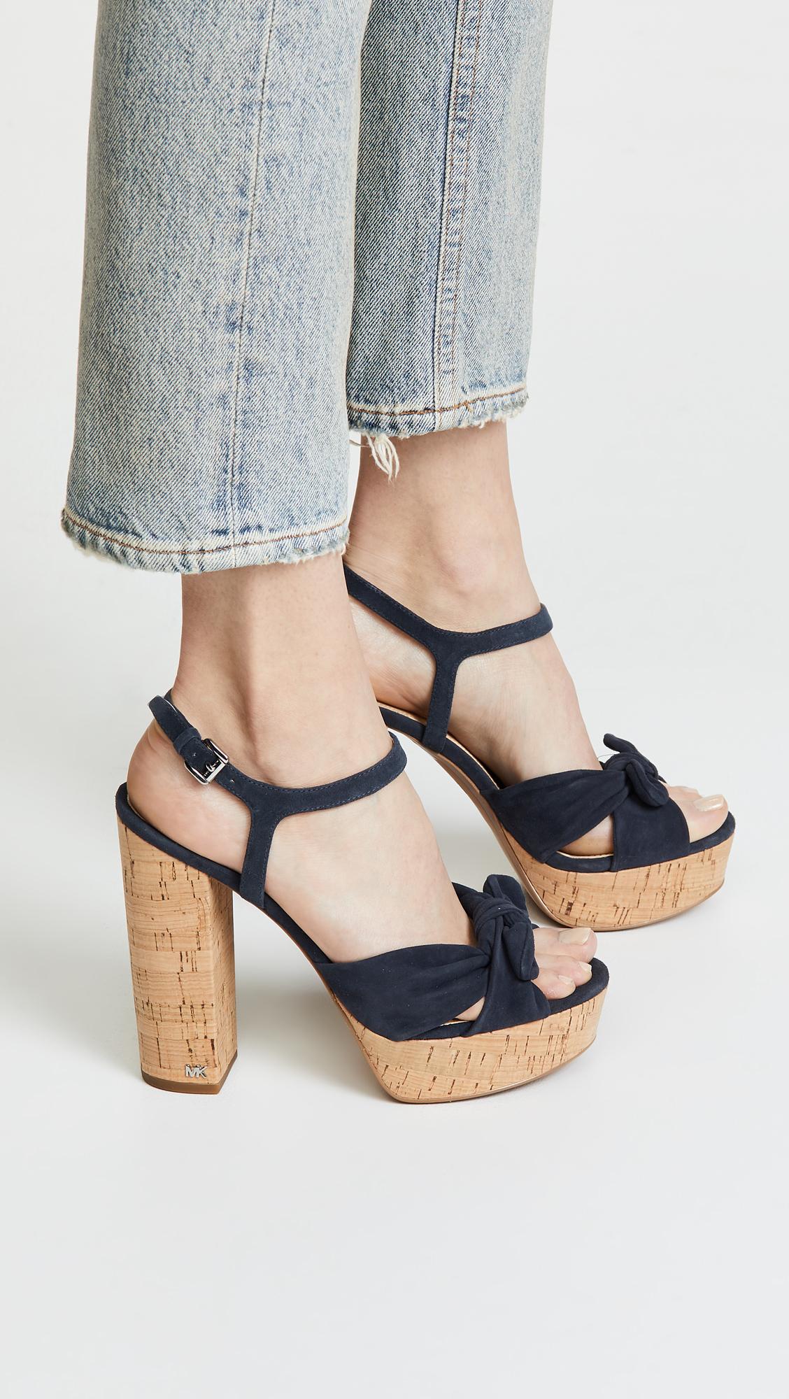 19d14fb55a MICHAEL Michael Kors Pippa Block Heel Platforms | SHOPBOP