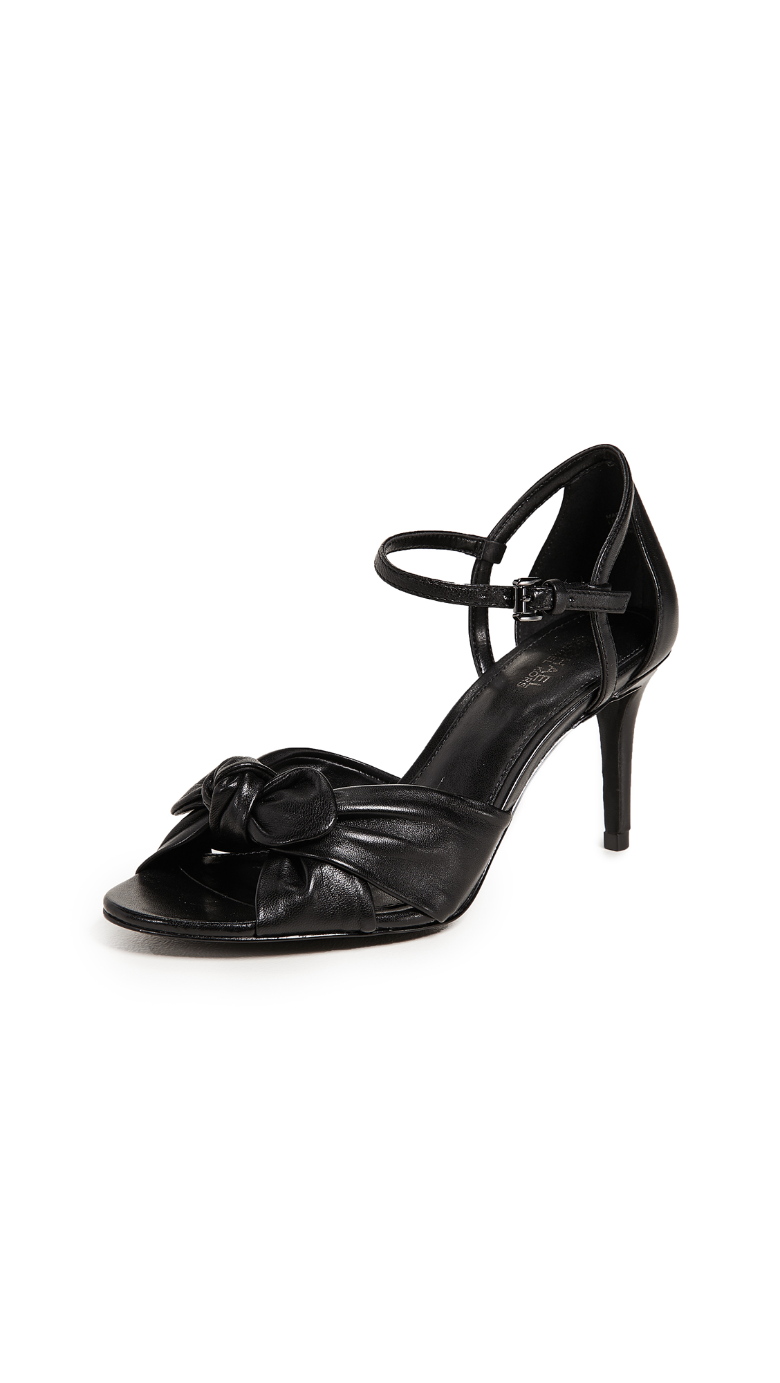 MICHAEL Michael Kors Pippa Strappy Sandals - Black
