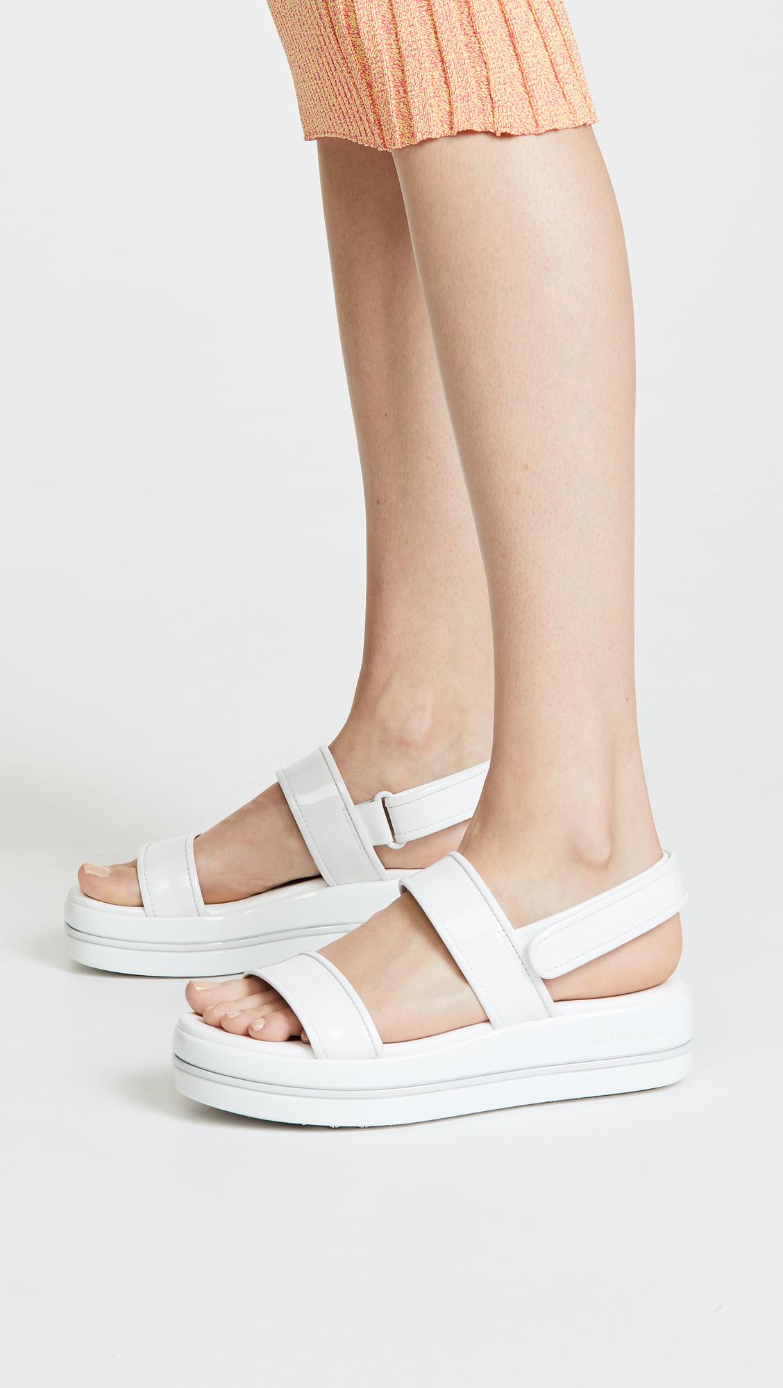 673311e03274 MICHAEL Michael Kors Peggy Platform Sandals