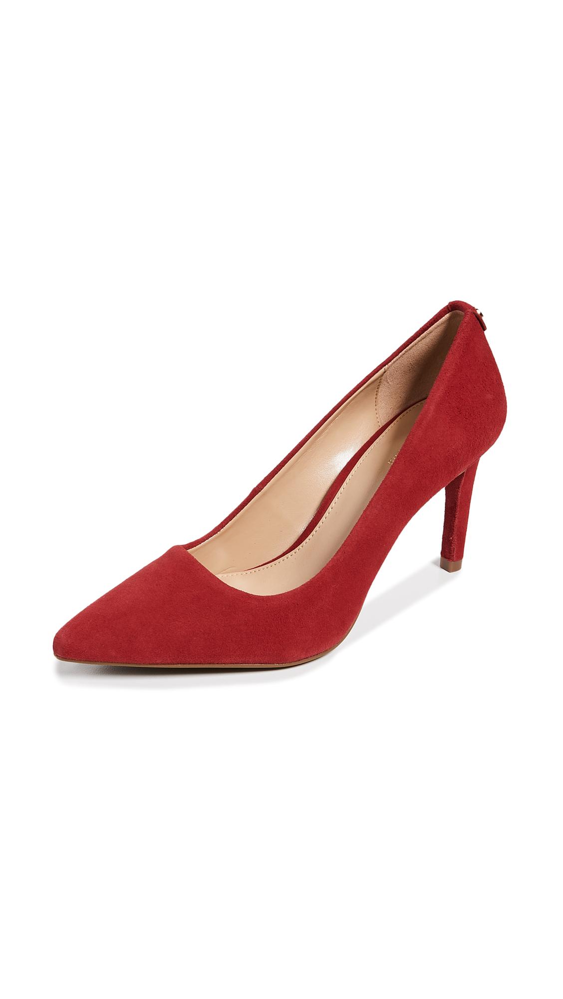 MICHAEL Michael Kors Dorothy Flex Pumps - Scarlet