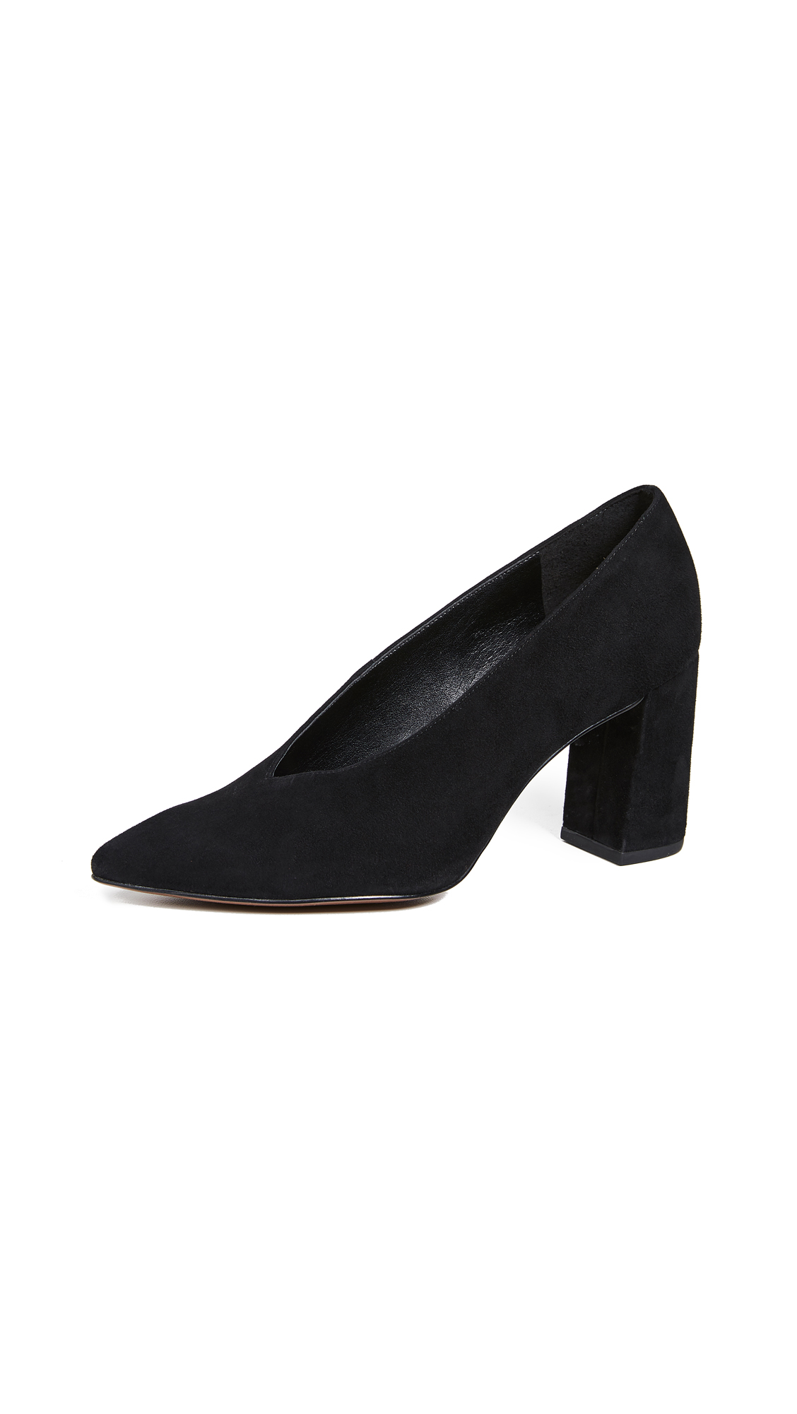 MICHAEL Michael Kors Cambria Point Toe Pumps - Black