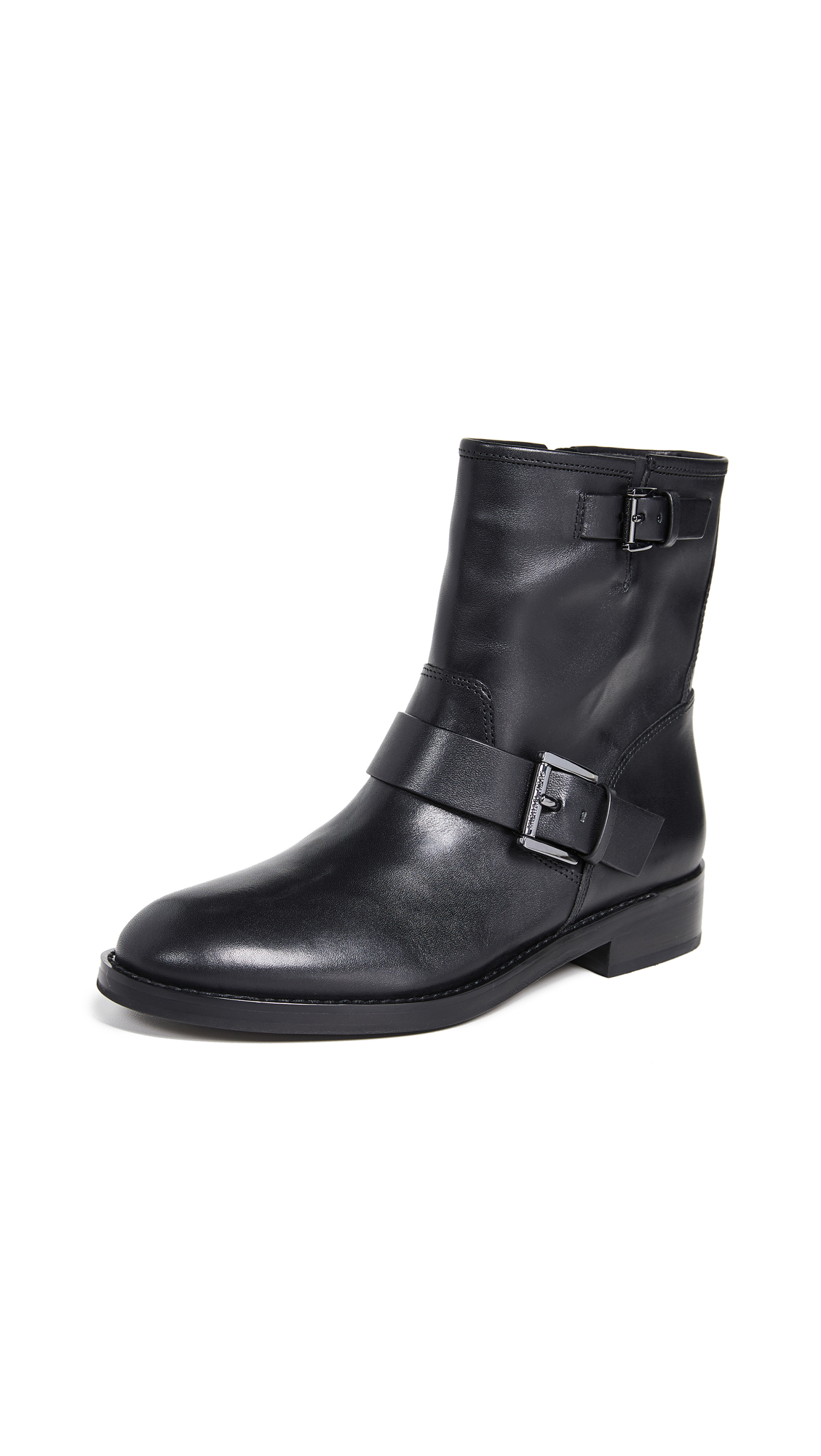 MICHAEL Michael Kors Reeves Moto Booties - Black