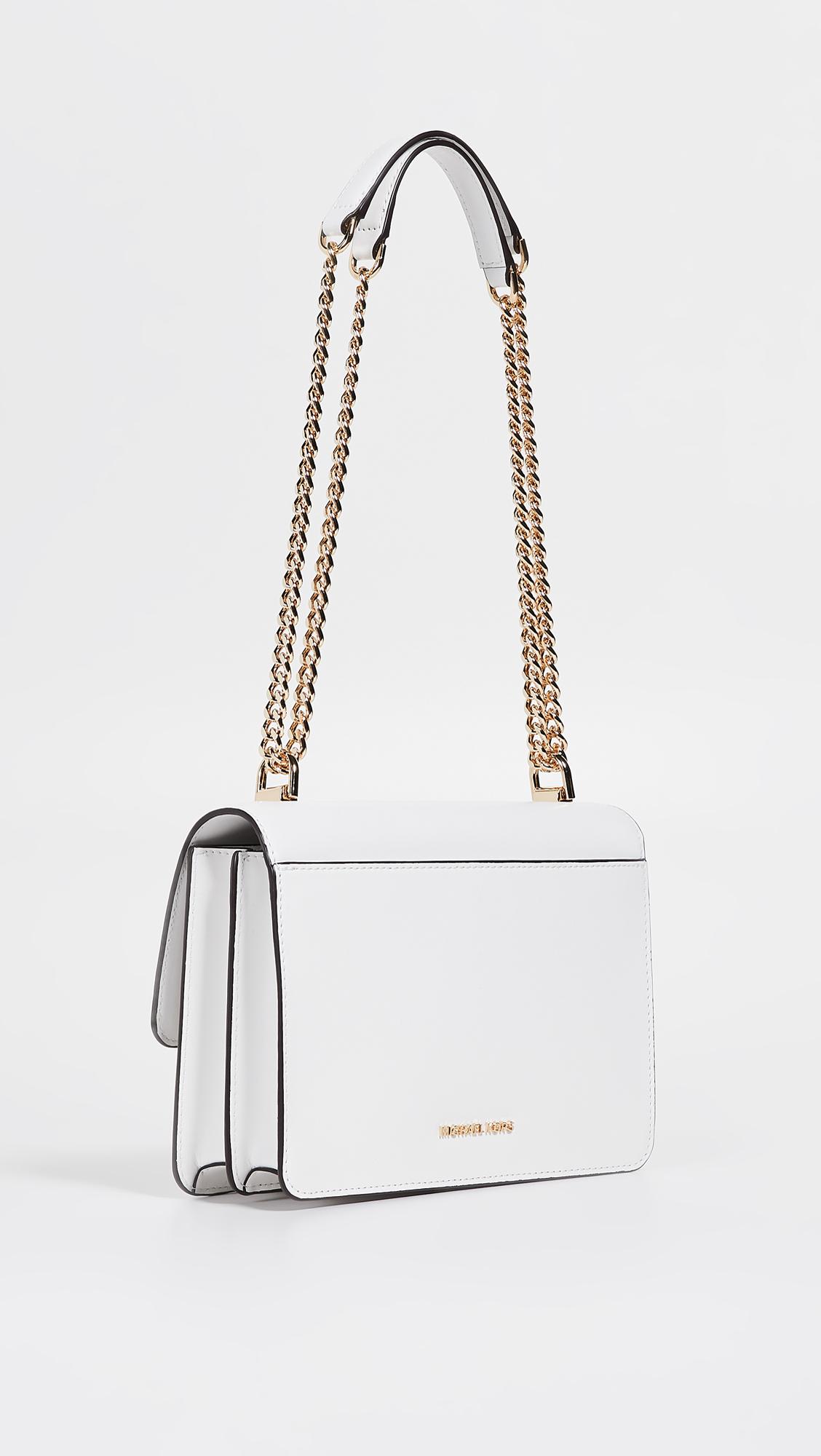 f0d114891909 MICHAEL Michael Kors Jade Large Gusset Shoulder Bag   SHOPBOP
