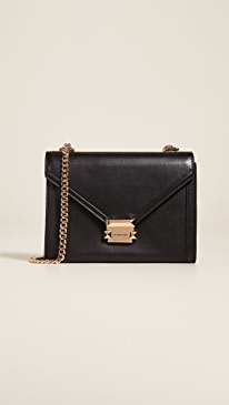 58f18d89f5a3 MICHAEL Michael Kors. Whitney Large Shoulder Bag