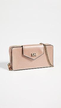 d093ed00b072 MICHAEL Michael Kors. Small Convertible Phone Crossbody Bag