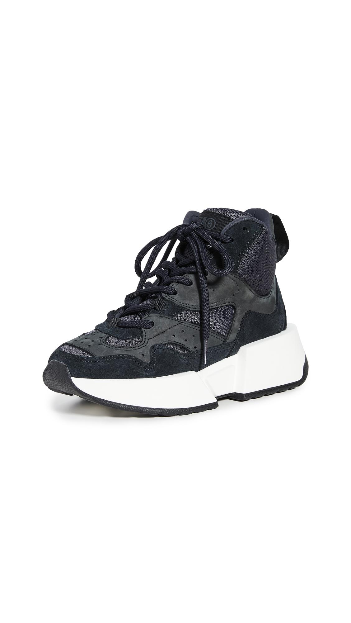 Mm6 Maison Margiela Shoes HIGH TOP TRAINERS