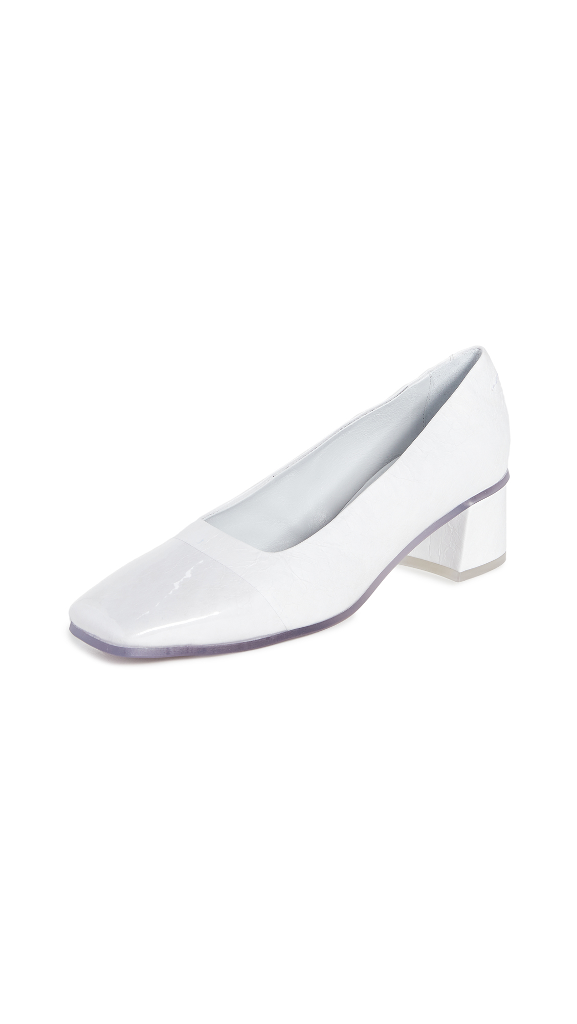 MM6 Maison Margiela Cap Toe Pumps - 50% Off Sale