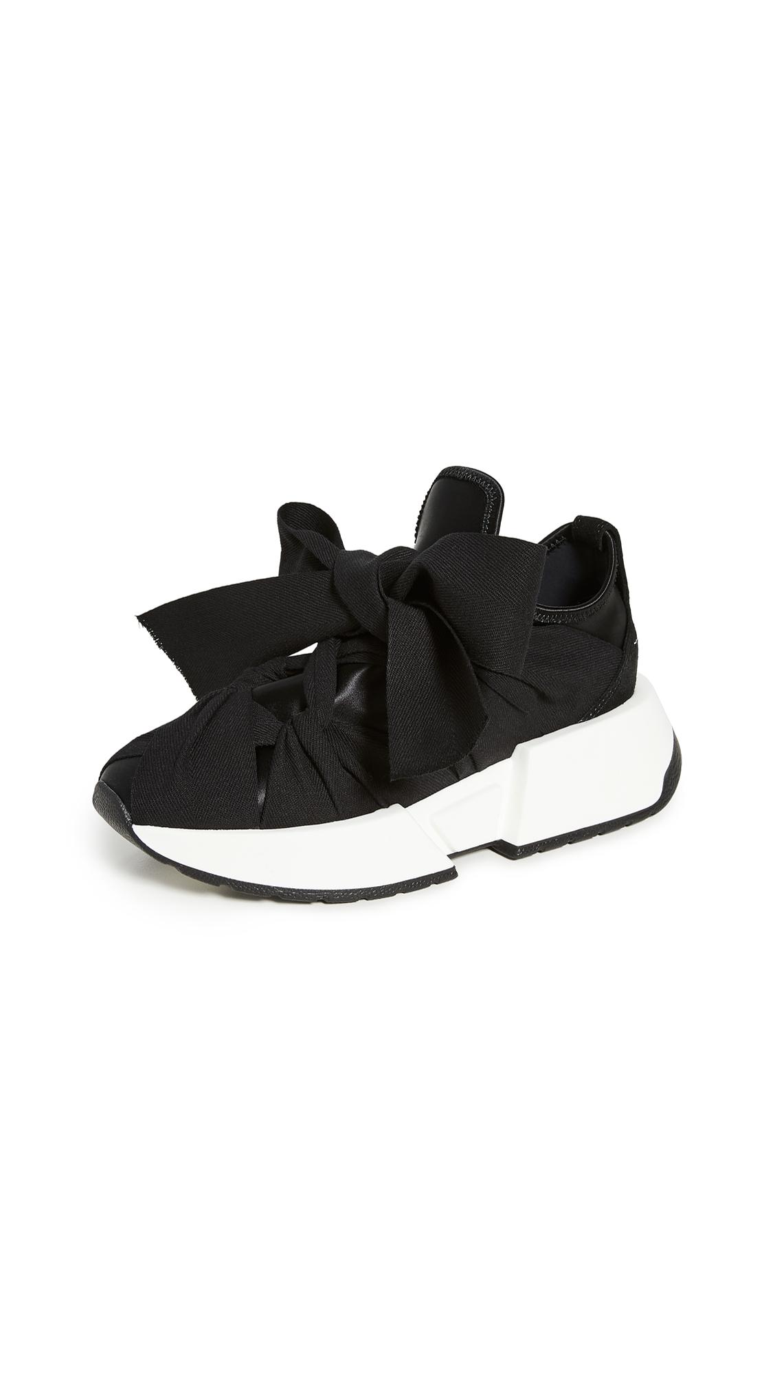 MM6 Maison Margiela Ribbon Tied Sneakers