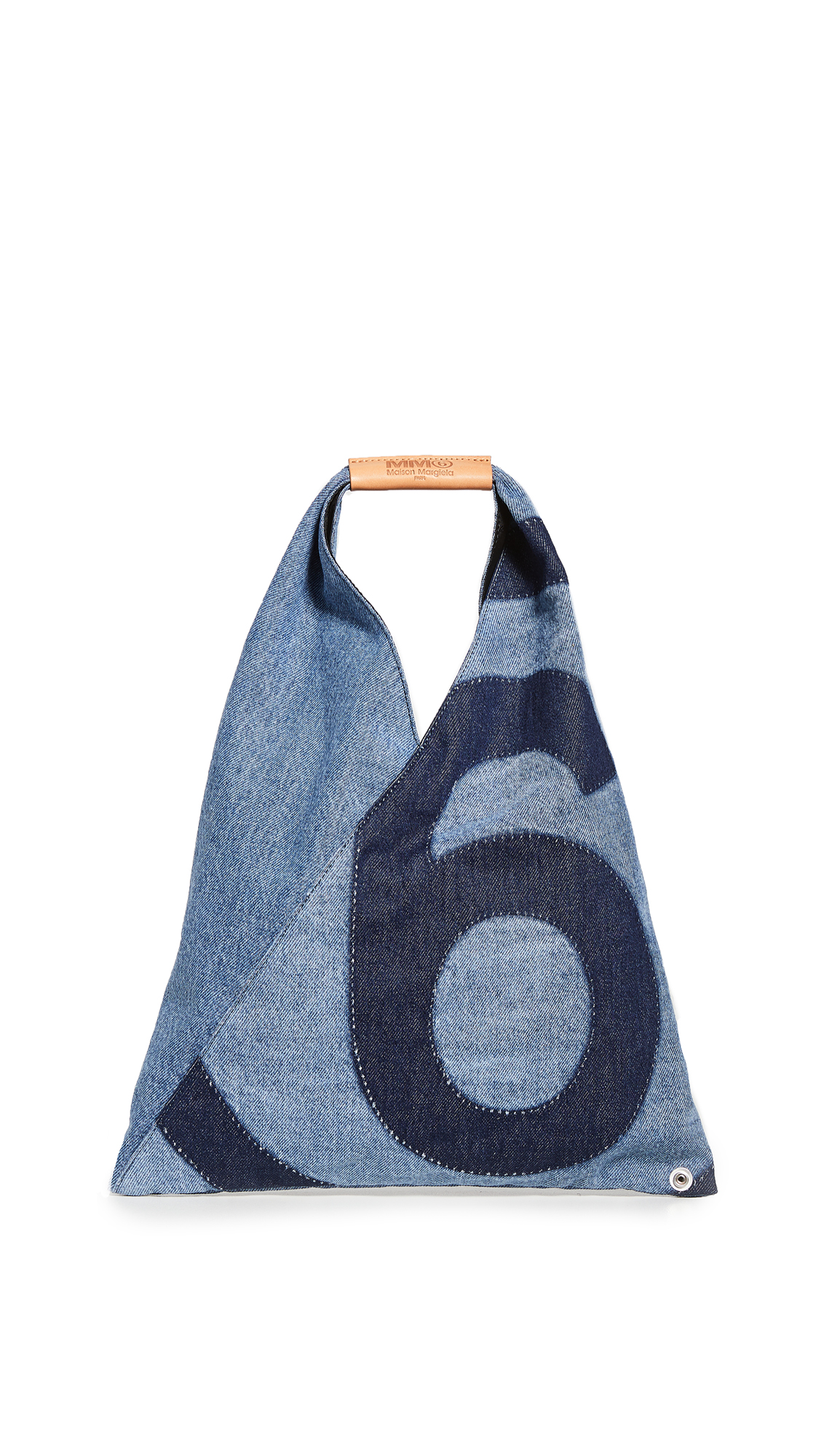 MM6 MAISON MARGIELA SMALL DENIM ORIGAMI TOTE