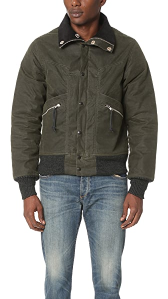 Monitaly Waxed Cotton Field Jacket