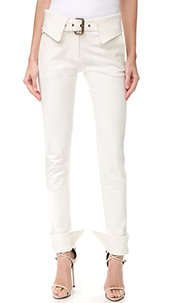 Monse Stretch Pants - White